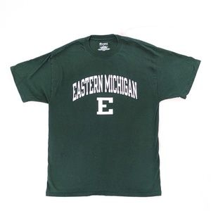 Champion Eastern Michigan University Logo Tee